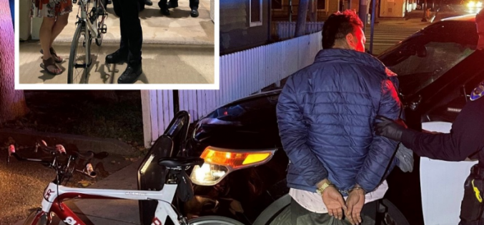 Some Good News: ARREST MADE AND $4500.00 BIKE RETURNED TO OWNER