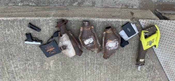 SSFPD ARRESTS CATALYTIC CONVERTER THIEF/ NARCOTICS SALES