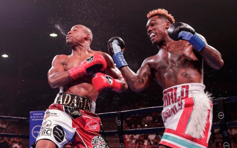 JERMALL CHARLO BOXING STAR ARRESTED … Allegedly Stole Cash From Waitress In Bar Dispute