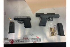 Los Banos PD's gang unit arrests two on suspicion of evading police; weapons found