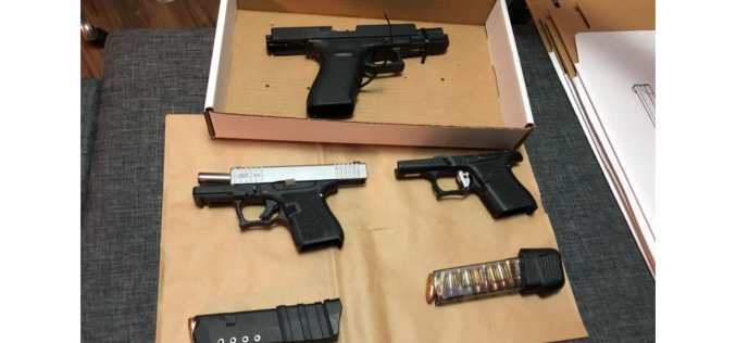 Davis Police: Traffic stop leads to multiple weapon-related arrests