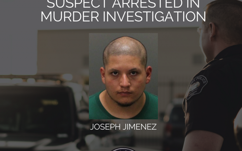 SUSPECT ARRESTED IN MURDER INVESTIGATION
