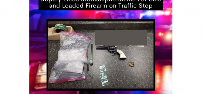 Sheriff's Office: Narcotics and paraphernalia discovered during traffic stop in Placer County