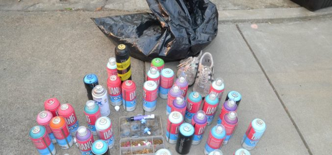 Sacramento man arrested in connection to graffiti found throughout downtown Grass Valley