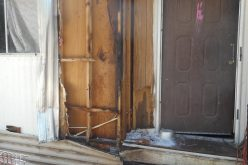 Man arrested for front porch arson