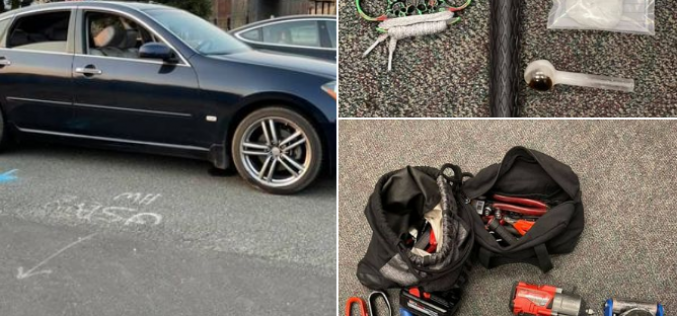 Sacramento trio arested for theft, conspiracy, drugs and weapons