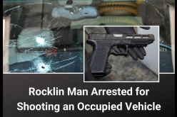 Man shoots at vehicle seven times