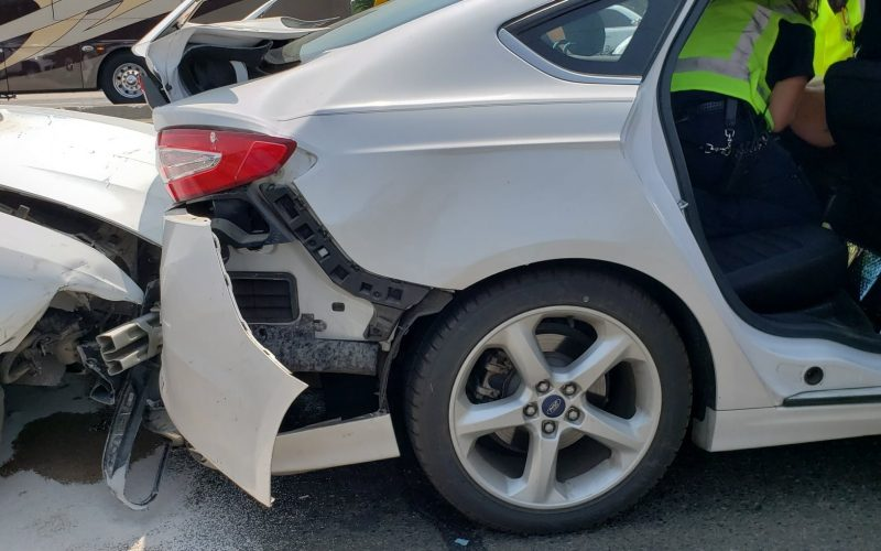 Redding Police arrest woman who allegedly fled from multi-vehicle collision
