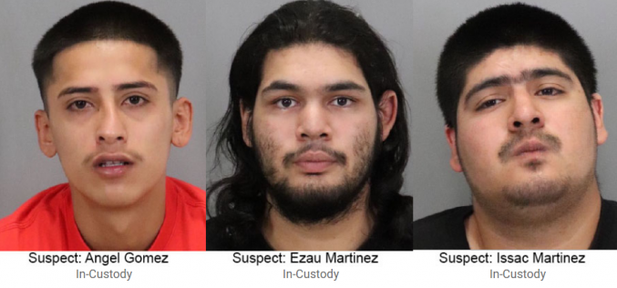 Three arrested in attempted homicide shooting