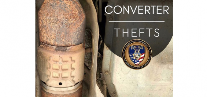Two arrested in connection to alleged catalytic converter theft