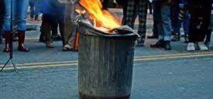 Serial Trash Can Arsonist Caught