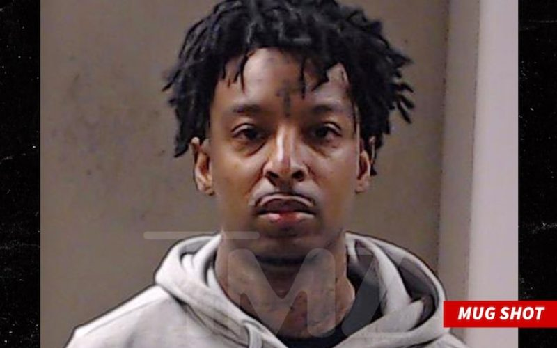 21 SAVAGE CHARGED WITH GUN, DRUG POSSESSION Stemming from ICE Case