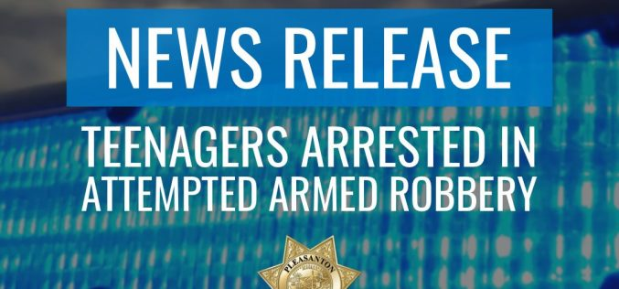Three Teens Arrested for Attempted Armed Robbery at a Shopping Center