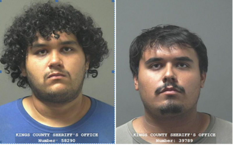 Brothers and juvenile arrested for stealing chainsaws