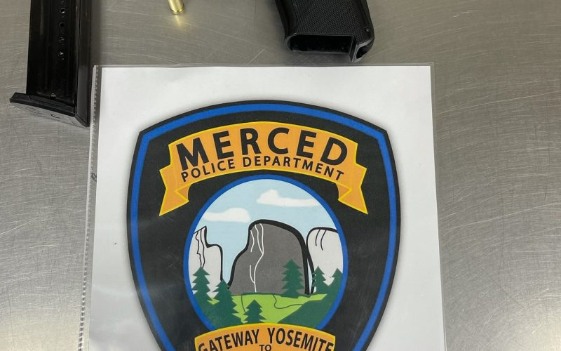 Suspects arrested by Merced Gang Unit with firearm