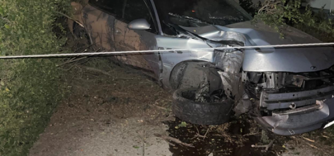 DUI driver hits cars, sheers power pole in half