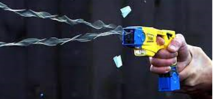 Man arrested for burglary with help of taser