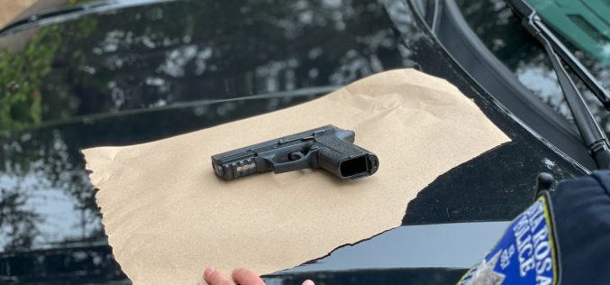 Santa Rosa man arrested twice in same day on weapon, narcotics charges