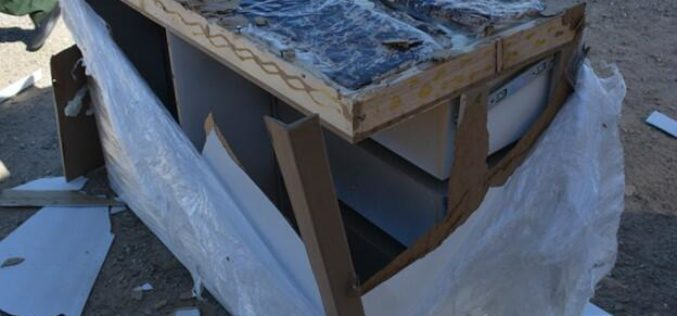 Agents Seize Meth Hidden in Furniture at Highway 86 Checkpoint