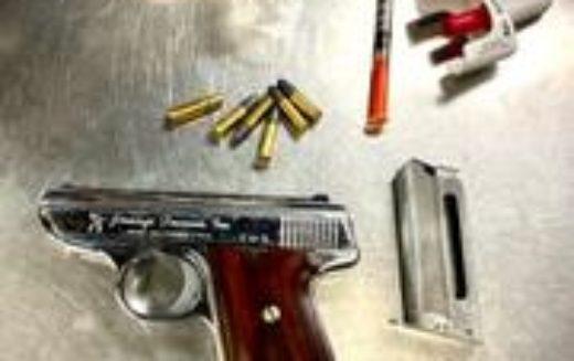 Traffic Stop – Violent-Crime Gang Member's Loaded Stolen Gun Revealed under Open-Container Alcohol