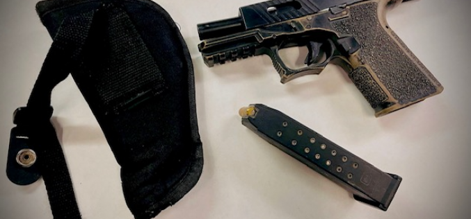 Curbed – Red-Zone Parking Leads to the Arrest of an Armed, Convicted Felon