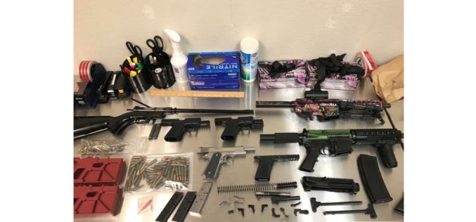 Two arrested, guns confiscated amid investigation into illegal firearm sales