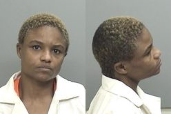 Woman assaults her man with thrown books, metal rod