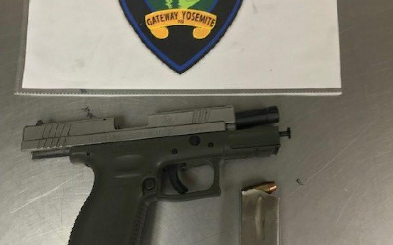 Gang member arrested with stolen firearm
