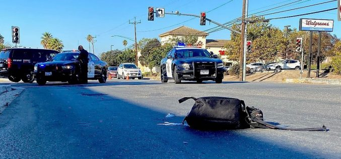 Three collisions involving pedestrians, one a hit and run