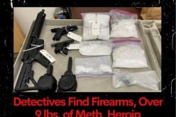 Search warrant results in arrest of man with guns, drugs