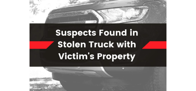 Couple from Reno, NV, reportedly caught with stolen truck, property in Placer County