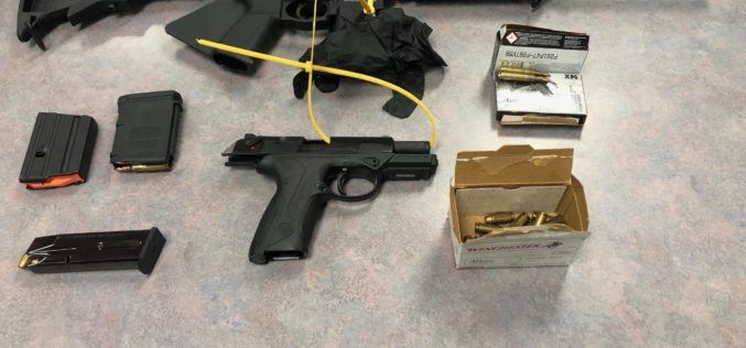 Man shoots gun in driveway, arrested at work